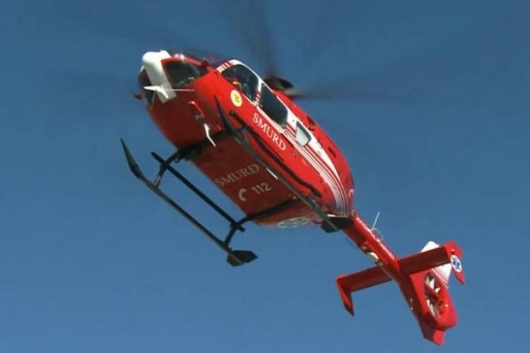 Pacienți cu COVID 19 mutați cu elicopterul de la Cluj la Oradea. Se mai deschide o secție ATI
