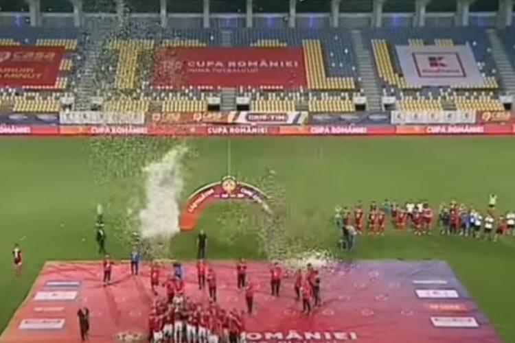 FCSB a câștigat Cupa României 2020, după ce a învins-o pe Sepsi. VEZI Rezumatul VIDEO al finalei