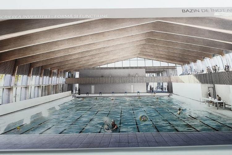 Floreștiul va avea bazin de înot acoperit la standarde europene - FOTO