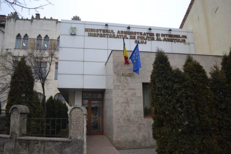 UPDATE: Focar de COVID-19 la IPJ Cluj! Mai mulți angajați sunt confirmați pozitiv