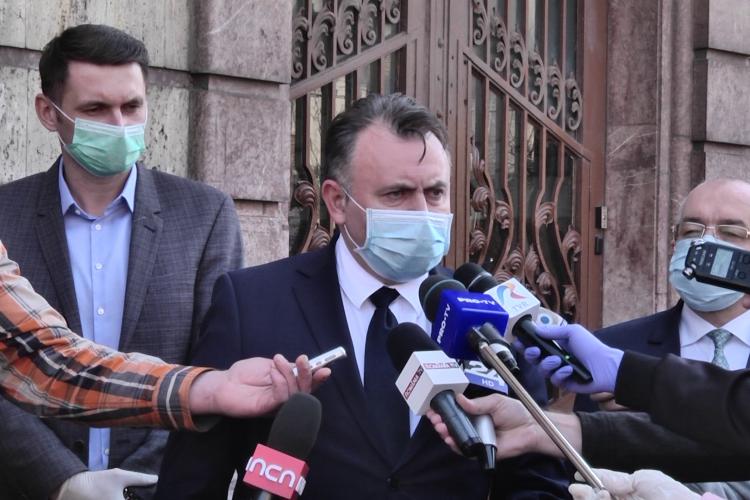 """Cum explică ministrul Sănătății cele 23 de teste """"fals-pozitive"""" de la CFR Cluj"""