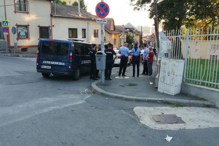 Razie pe strada Piezișă pentru a se verifica distanțarea socială - VIDEO
