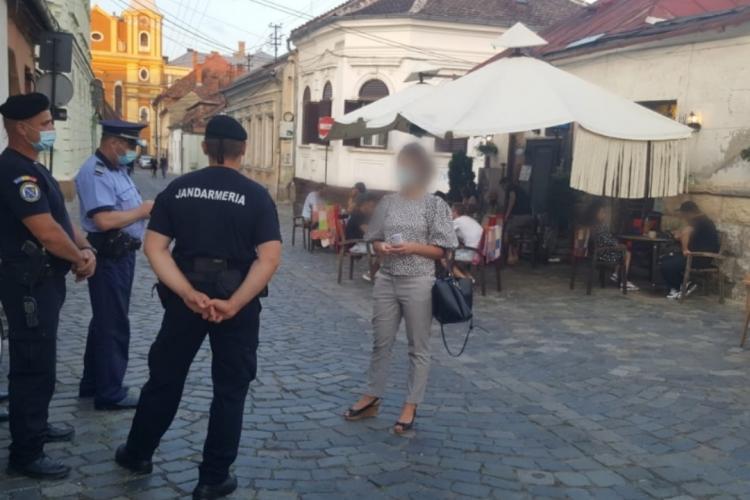 Polițiștii au verificat 140 de terase și zone de agrement din Cluj-Napoca, în perioada 8 - 9 august