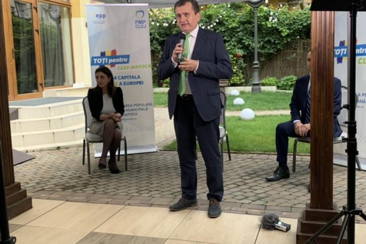 PMP și-a anunțat candidatul pentru Primăria Cluj-Napoca! Ce proiect important are profesorul Avram Fițiu
