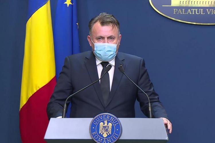 Avertismentul ministrului Sănătății după ce numărul cazurilor noi de COVID a ajuns la aproape 1.000: Ne așteaptă două săptămâni grele