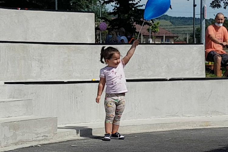 Parcul din Florești a fost inaugurat spre bucuria copiilor - VIDEO