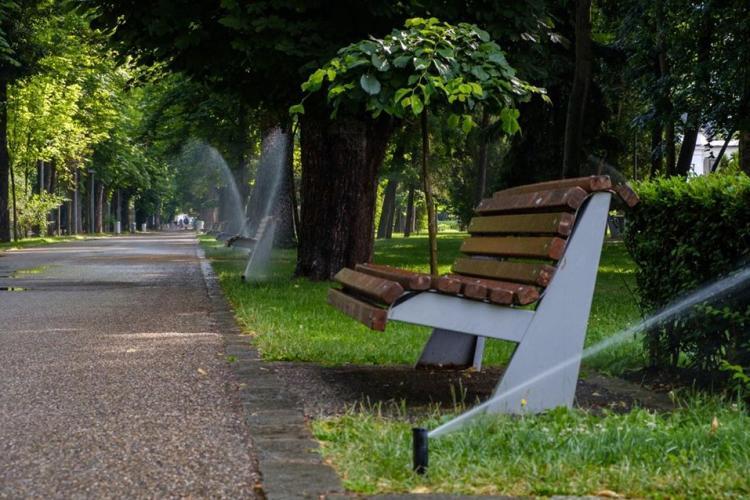 Sistem automatizat de irigații din Parcul Central a costat 1,2 milioane - FOTO