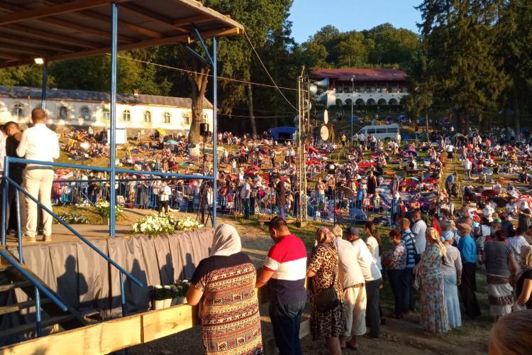 7.000 de credincioși au fost în cele cinci zile la Mănăstirea de la Nicula