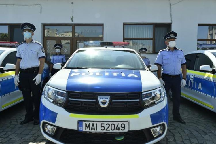S-a schimbat aspectul mașinilor de Poliție: Cetățenii trebuie să le poată diferenția față de cele de la Poliția Locală