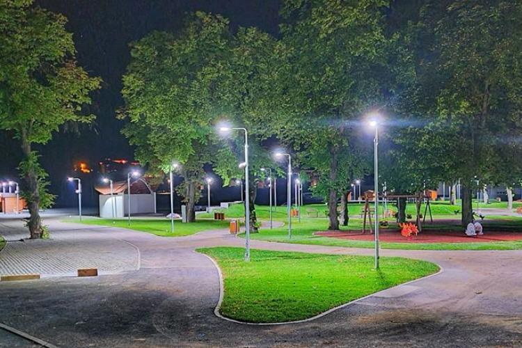 Imagini superbe cu Parcul din Florești - FOTO