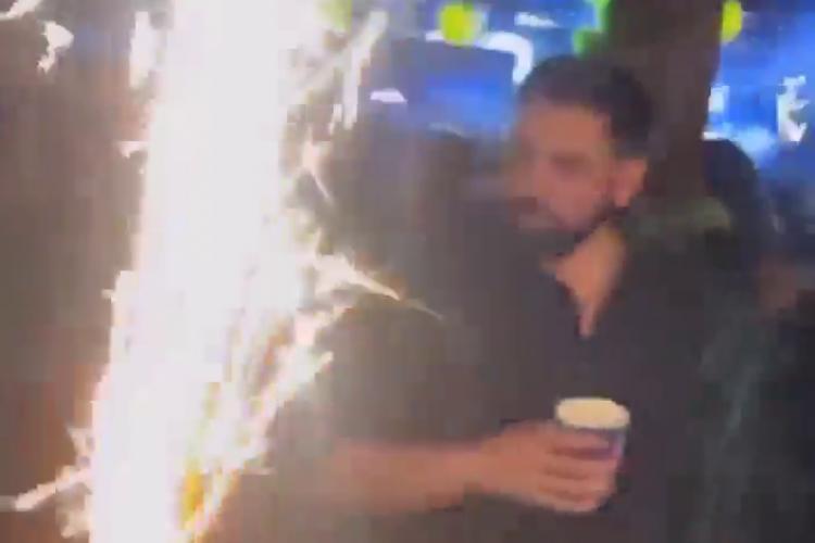 Organizatorul petrecerilor ilegale de la Feleacu, amendat pe baza imaginilor - VIDEO