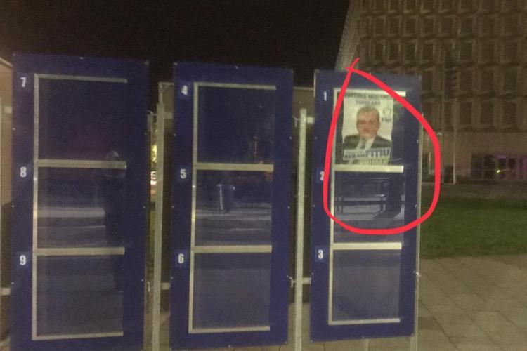 PMP Cluj acuză PSD de încălcarea legii electorale: Am sesizat autoritățile competente FOTO (P)