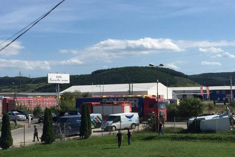 Accident cu trei mașini între Florești și Gilău FOTO