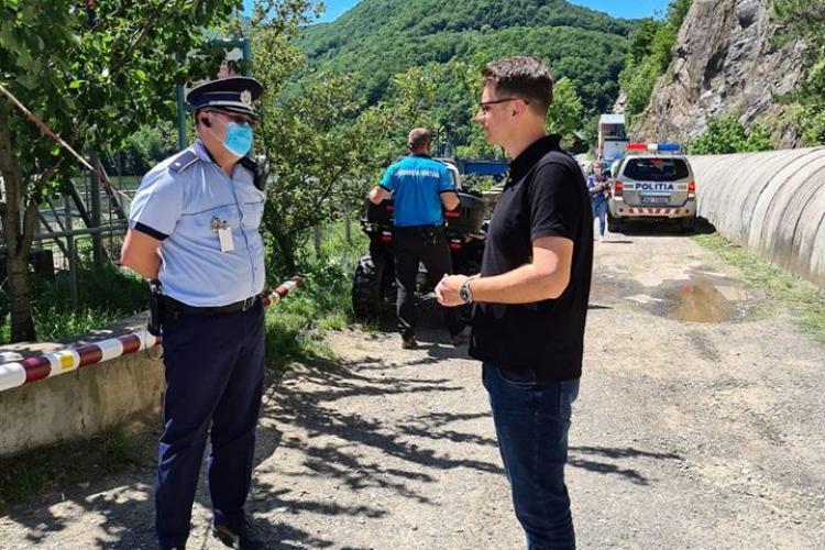 Prefectul Clujului, Mircea Abrudean: Vom face controale pe Tarnița și Beliș. Navigația care poluează a fost interzisă
