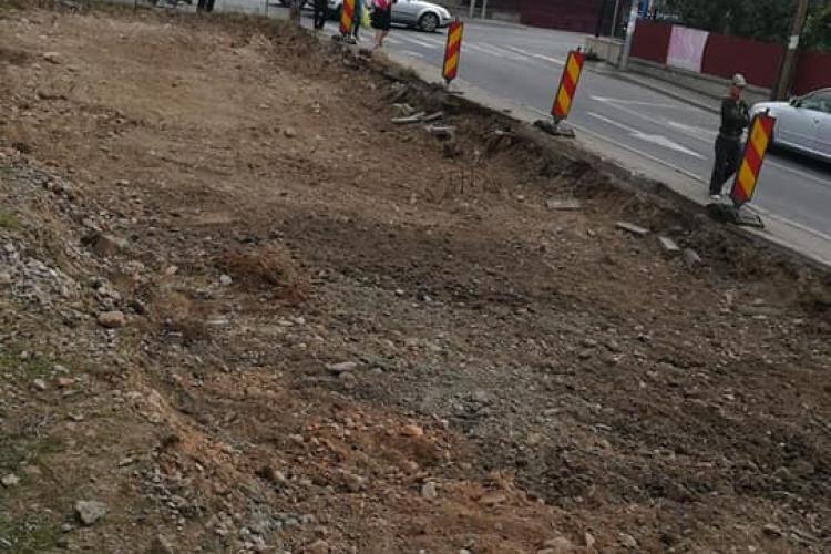 În Florești, se lărgește strada Someșului - FOTO