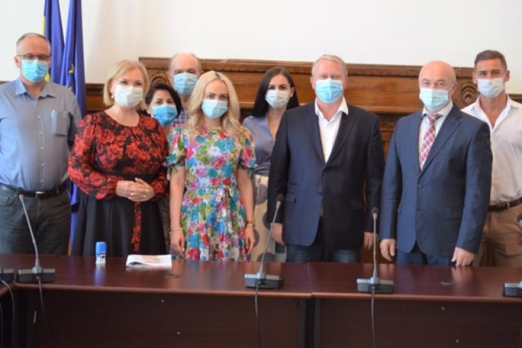 Candidații PRO România Cluj și-au depus primii dosarele de candidaturi pentru alegerile locale din 27 septembrie