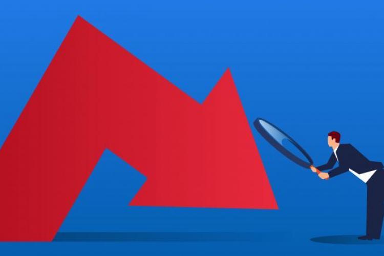 România a înregistrat cea mai mare cădere economică din ultimii 24 de ani. Cu cât a scăzut produsul intern brut