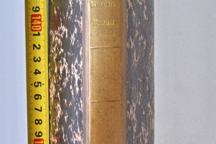 Carte veche de peste 200 de ani furată din Biblioteca Academiei Române, recuperată de polițiștii clujeni