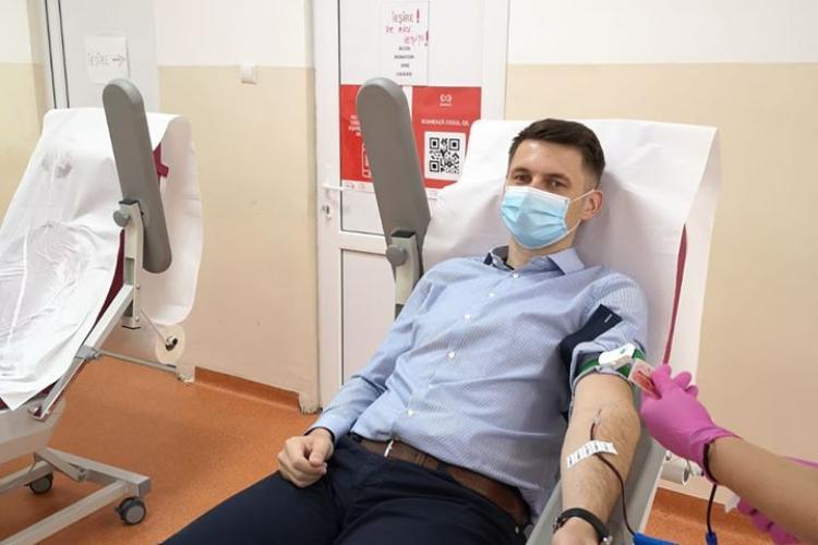 Prefectul Clujului a donat plasmă: Îi îndemn pe toți cei vindecați să facă asta - FOTO