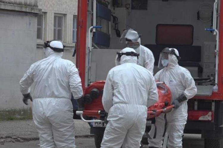 Nou record de decese cauzate de COVID-19: 58 de persoane, printre care și clujeni, au murit în ultimele 24 de ore