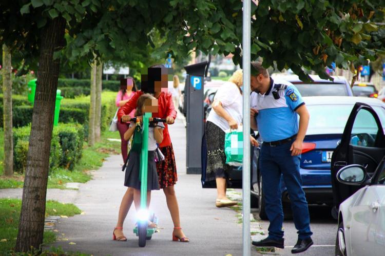 Cât de mult respectă clujenii legile în trafic? Polițiștii au dat 120 de amenzi în doar 2 ore FOTO