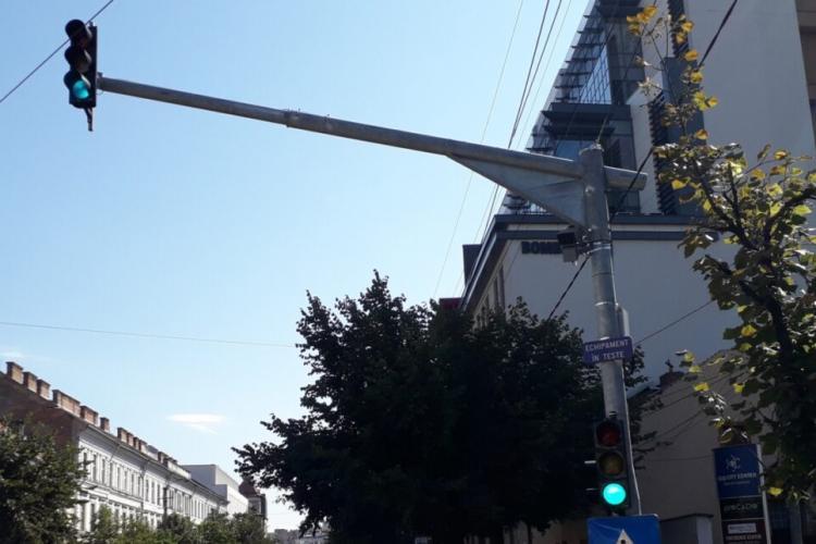 Cluj: Primul radar fix este în teste pe Dorobanților