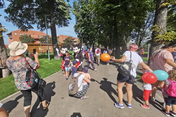 Ce spectacole pentru copii sunt în parcul Florești până la finele anului