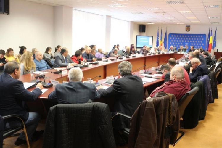 Ce partide sunt reprezentate în Consiliul Județean Cluj și cine sunt consilierii județeni din mandatul 2020 - 2024