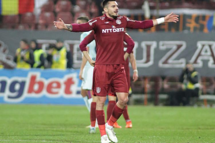 Fundaș de la CFR Cluj curtat de cea mai titrată echipă a Rusiei