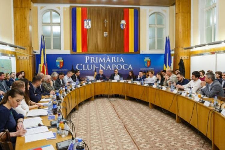 Care este componența Consiliului Local Cluj-Napoca. Sunt patru partide care au aleși
