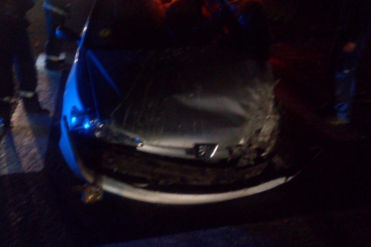 Accident între un TIR și o mașină, la Livada FOTO