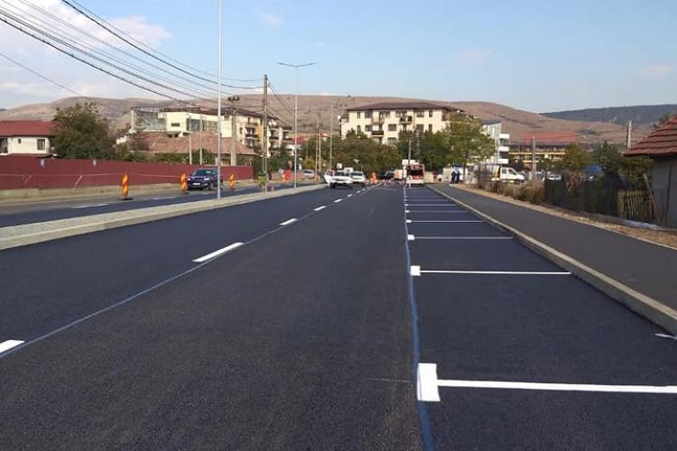 Cum arată acum strada Someșului din Florești, lărgită și finalizată în timp record - FOTO