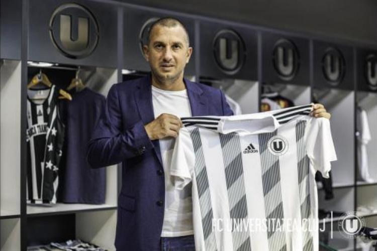Costel Enache, noul antrenor al U Cluj. Fanii nu cred că îl prinde primăvara la cea mai iubită echipă - FOTO