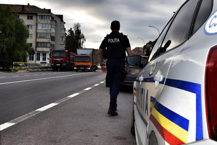 CLUJ: Razie în trafic pentru a prinde vitezomanii. Câți șoferi au rămas fără permis