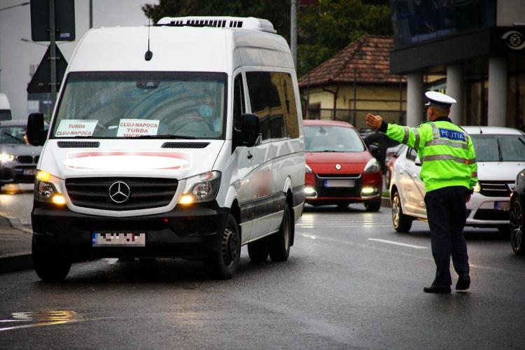 Controale de amploare la Cluj, pentru a preveni răspândirea COVID-19. Zeci de clujeni au fost amendați FOTO
