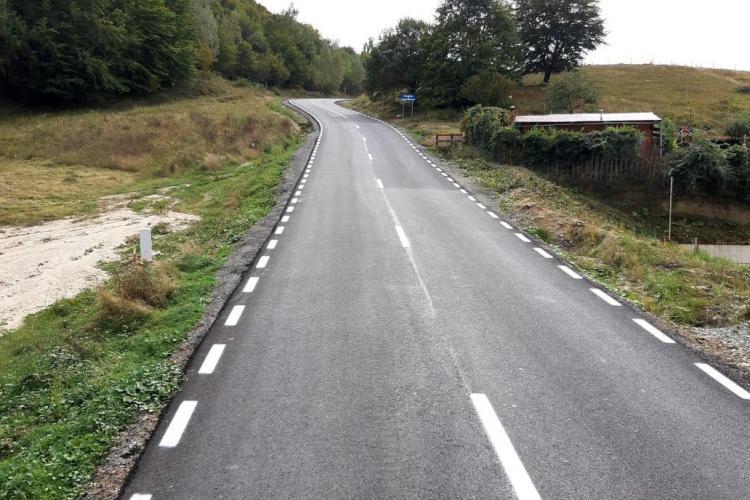 Cum arată drumul județean 103Z Sălicea spre Moara de Vânt - Micești