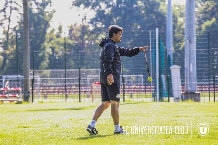 """Falub și-a dat demisia de la U Cluj: """"Cățeii politrucilor din conducere sunt tot acolo și își freacă mâinile. Ei nu pleacă"""""""
