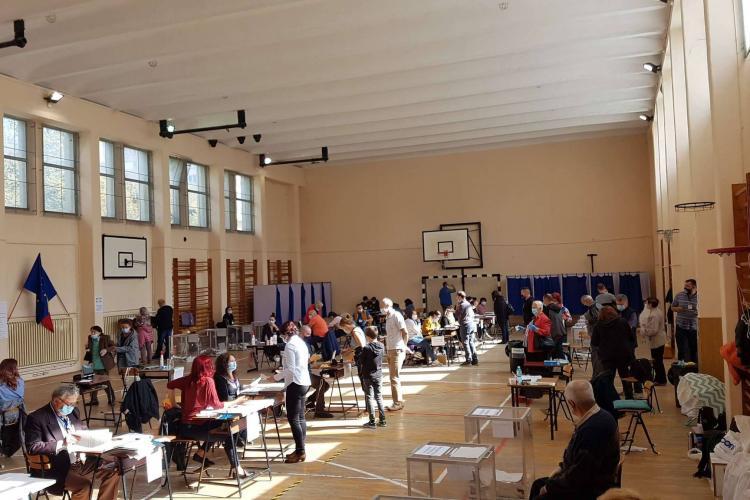 Cluj - Prezența la vot alegeri locale 2020, oră de oră