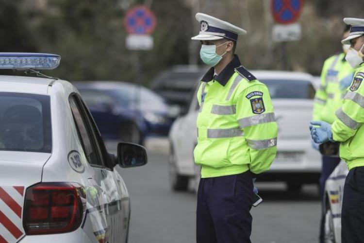 Controale la Cluj, pentru a verifica respectarea stării de alertă