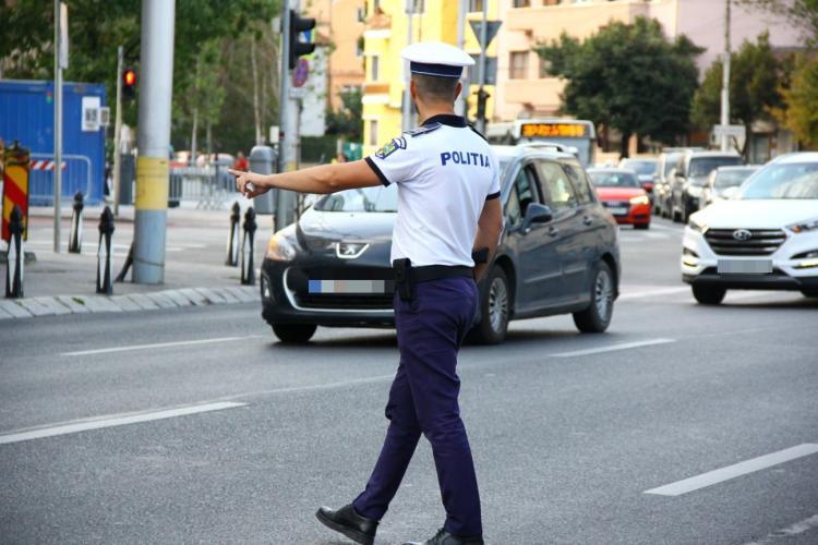 Controale de amploare la Cluj-Napoca. Câte sancțiuni au fost aplicate FOTO