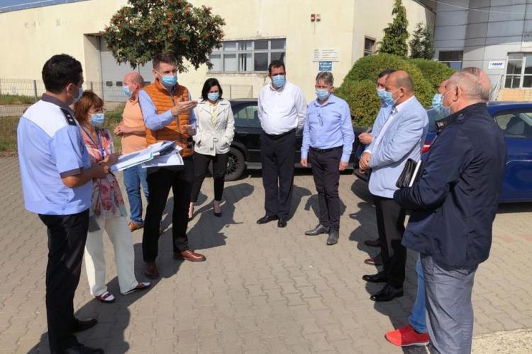 Serviciul de Permise se va muta la intrare în Apahida, la Biroul Vamal Cluj - FOTO