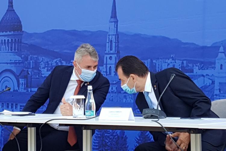 Premierul Orban susține la Cluj că PNL a sprijinit din fașă Autostrada Transilvania, uitând că liberalul Tăriceanu a vrut să o îngroape - VIDEO