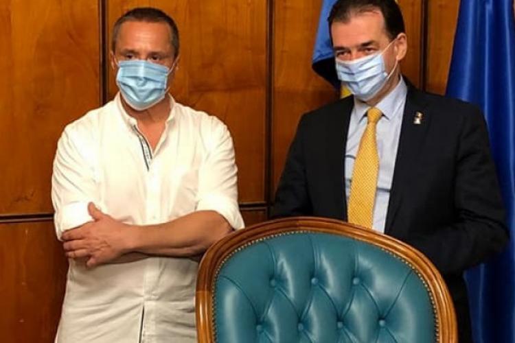 Actorul Claudiu Bleonț a pierdut alegerile de la Beliș. A ieșit Matiș, deși fusese condamnat