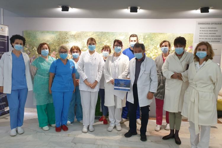 Spitalul clujean de Boli Infecțioase, premiat în cadrul competiției Romanian Healthcare Awards 2020