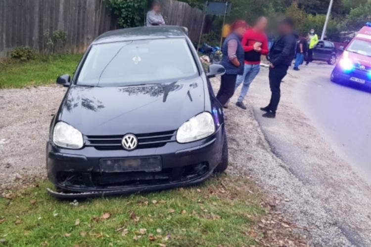 Accident mortal pe un drum din Cluj. Un motociclist de 18 ani și-a pierdut viata FOTO