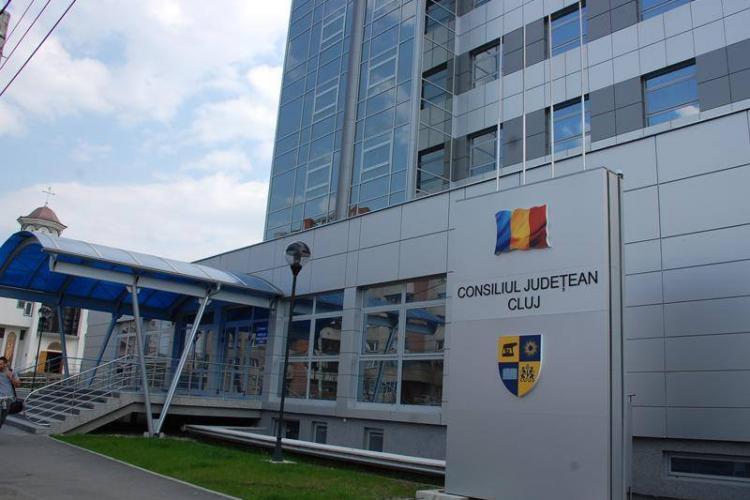 Un caz de COVID 19 la sediul central al Consiliului Județean Cluj, la cea mai importantă Direcție - EXCLUSIV