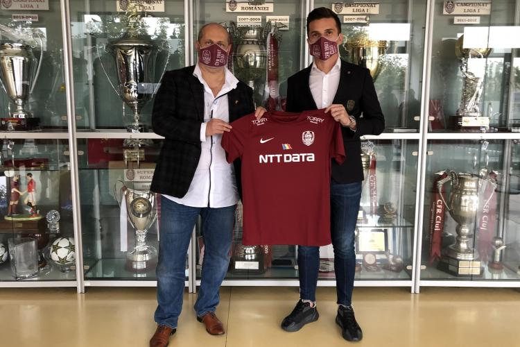 Farmec susține fotbalul românesc prin parteneriatul cu Clubul de Fotbal CFR 1907 Cluj VIDEO