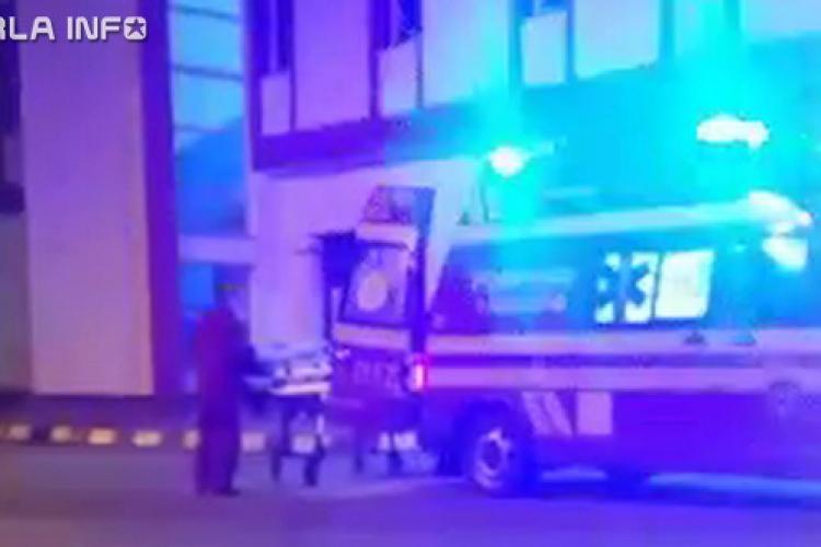 Clujean lovit de tren la Gherla VIDEO