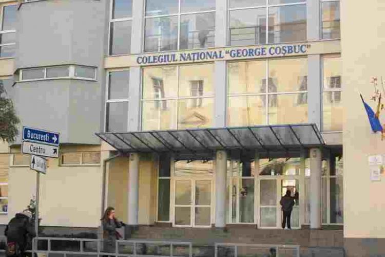 Patru elevi cu COVID la Colegiul George Coșbuc Cluj. Directorul a ÎNCHIS școala fără a suna părinții și Prefectura - EXCLUSIV