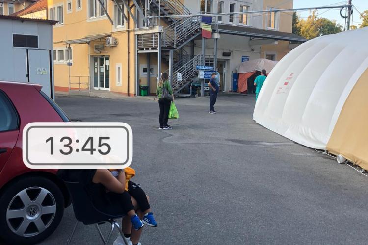 Experiența de CINCI STELE avută de  o familie din Cluj-Napoca, după ce a ajuns cu copilul la UPU Cluj
